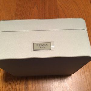 Pastel Green Fabric Prada Keepsake Box